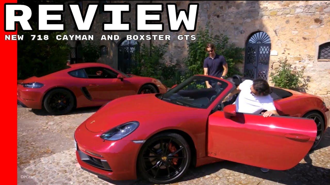 2018 porsche boxster review. Fine Porsche 2018 Porsche 718 Cayman And Boxster GTS Review On Porsche Boxster Review