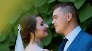 Очень красивый свадебный клип для Тани и Саши - видео на свадьбу с дрона