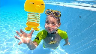 Diving down for Toy & Found Treasure at Sea | Timko Kid Sea adventures