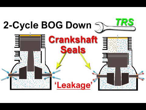 Why Crankshaft Seals cause Bog Down/Two Stroke Cycle (11 of 12)