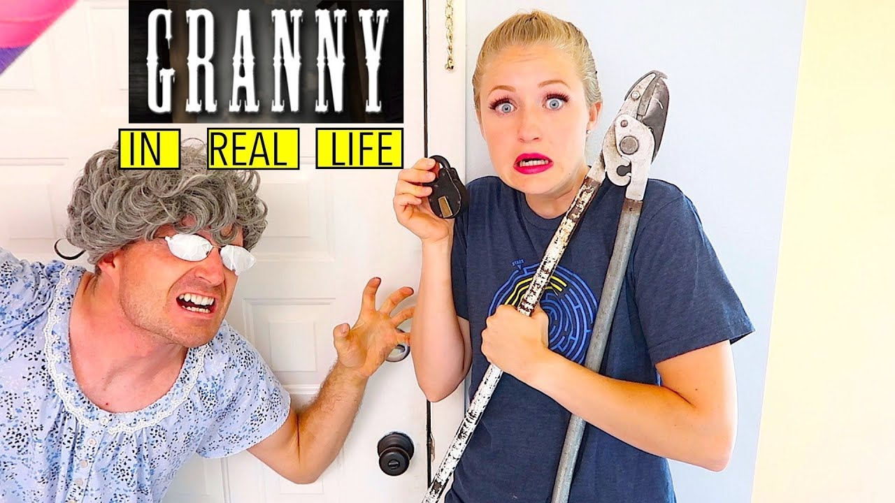 Granny Game In Real Life / That YouTub3 Family - YouTube