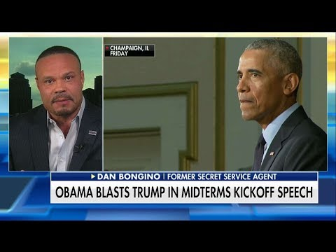 Bongino Rips Obama for Blasting Trump in Speech