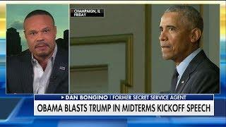Bongino Rips Obama for Blasting Trump in Speech