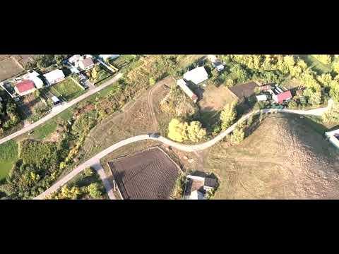 Уварово, полёт над станцией Обловка в тамбовской области