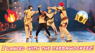 I DANCED WITH THE JABBAWOCKEEZ!!!!!