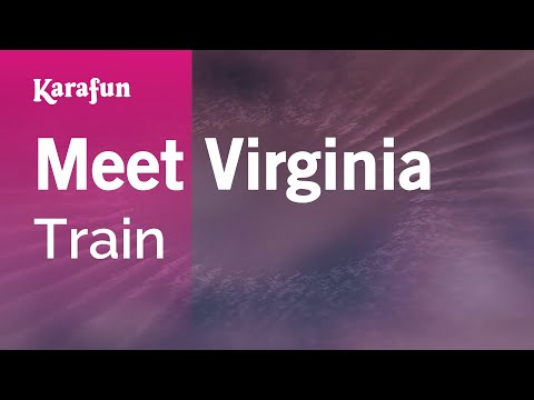 Karaoke Meet Virginia - Train *