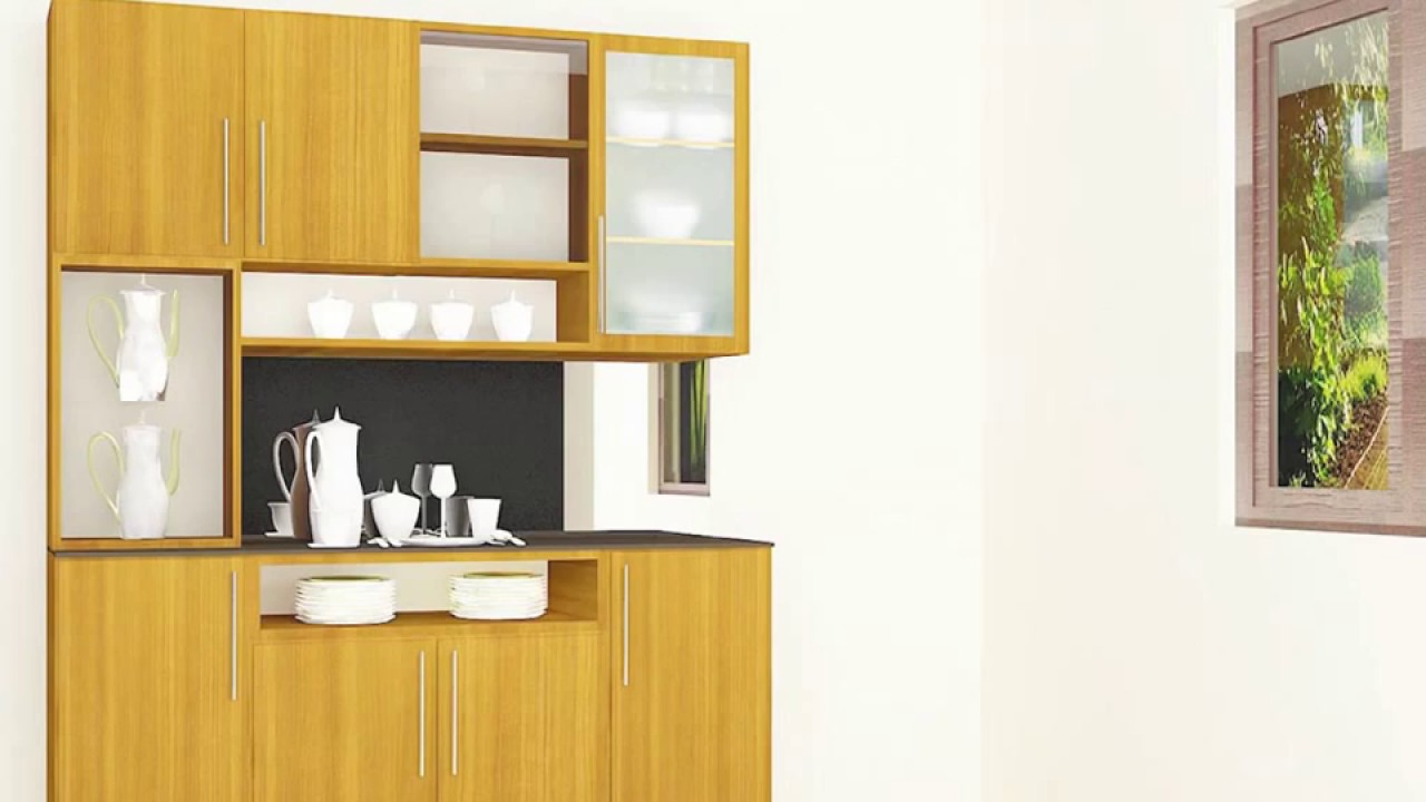 Scale Inch Interiors Modern Crockery Cabinet Designs Dining Room