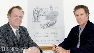 Will Ferrell & John C. Reilly Geben Sie Die New Yorker Cartoon Caption Contest | New Yorker