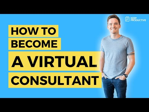How to Become a Virtual Consultant