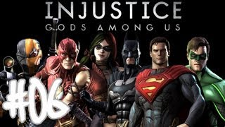 Injustice Gods Among Us - Walkthrough Part 6 Cyborg Gameplay Let