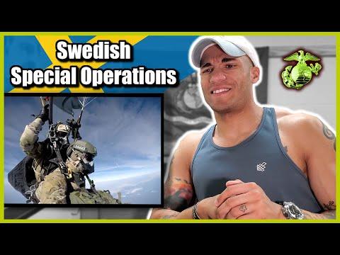 Marine reacts to Swedish Special Operations (Särskilda Operationsgruppen)