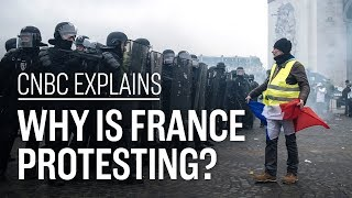 Why is France protesting? | CNBC Explains