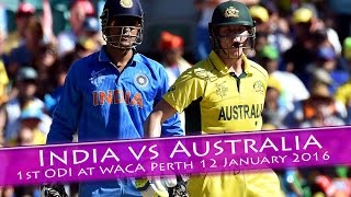 India vs Australia 2016 series | MS dhoni smashing sixes