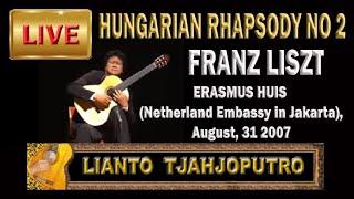 Live: Lianto Tjahjoputro- HUNGARIAN RHAPSODY No 2 Liszt - Kazuhito Yamashita