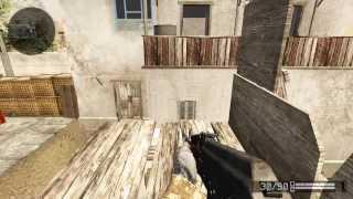Как выйти за палигон без помощи гранаты