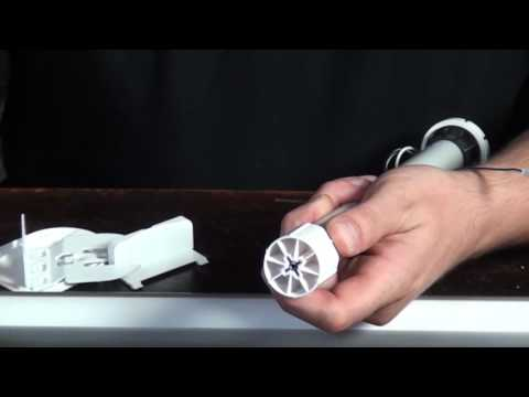How to make your own electric roller blind - part 2 - assembly of all the pieces