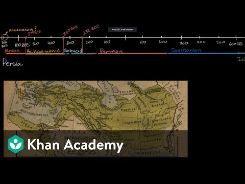 Overview of ancient Persia | World History | Khan Academy