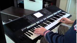 Ennio Morricone - Chi Mai (cover by Ziqqo Yamaha psr s750)