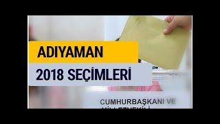 2018 seçim sonuçları YSK Adıyaman oy sonucu DuckNews TV