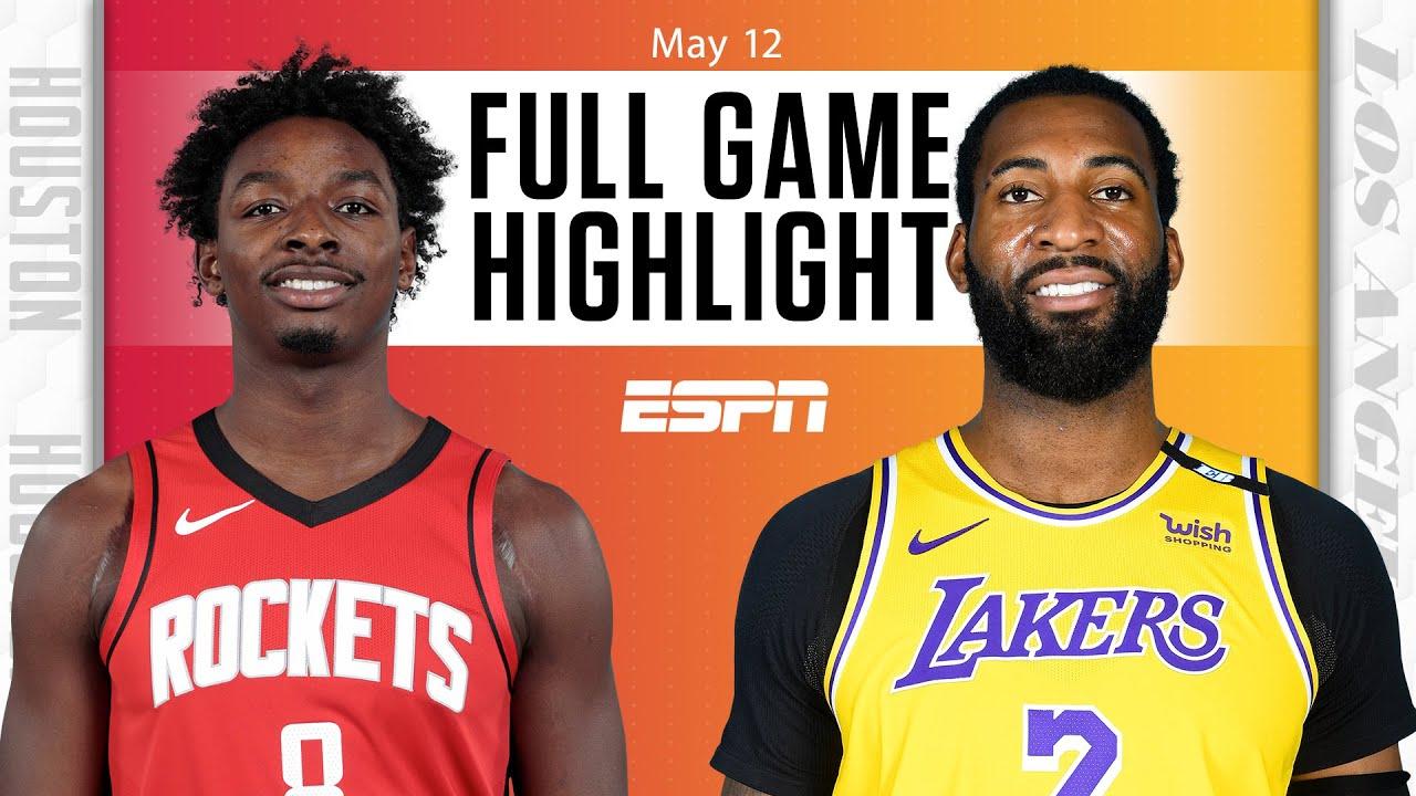 Rockets vs. Lakers - Game Recap - May 12, 2021 - ESPN