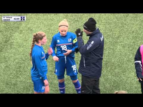 FSF Varpið: UEFA WU16 Northern Ireland - Iceland. Development Tournament
