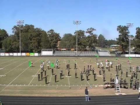 Ponchatoula High School Greenwave Marching Band @ Tiger Classics XXXI Morgan City, LA 10-20-12