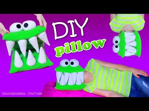 Thumbnail: DIY Monster Pillow – How To Make A Head-Eating Pillow