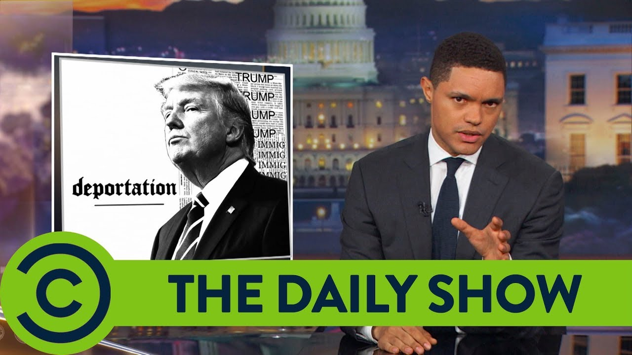 The Daily Show with Trevor Noah | Trump Wants To Kill DACA ...  The Daily Show ...