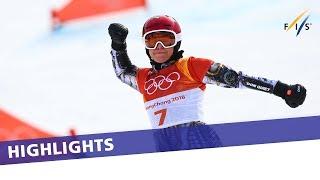 Pyeongchang Diaries | 4 | Ester Ledecka makes history with PGS gold | Photorecap