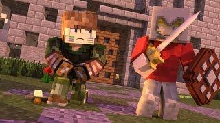 Minecraft: GUERRA COM JV!  (Build Battle)