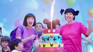شوفوا دنيا وايمي سمير غانم بيغنوا اغنية اجمل عيد ميلاد الليلة ليه🤔 ولمين😅من مسلسل نيللي و شريهان