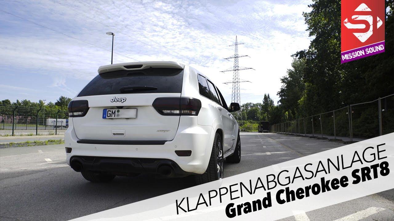 jeep grand cherokee srt8 | klappenanlage | sidney industries - youtube