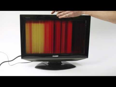 LCD TV Fault Repair Diagnostics - Vertical Lines - YouTube