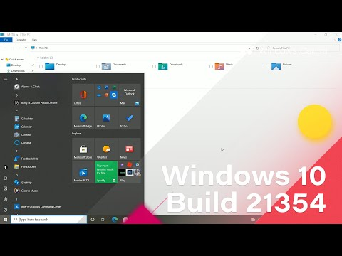 Windows 10 Build 21354 - Apps List, New Icons, News & Interests + MORE