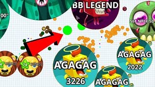 Agar.io Best Solo And Team Wins/Fails Compilation Mobile Best Moments Gameplay