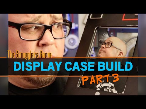 Building an Action Figure Display Case - Part 3