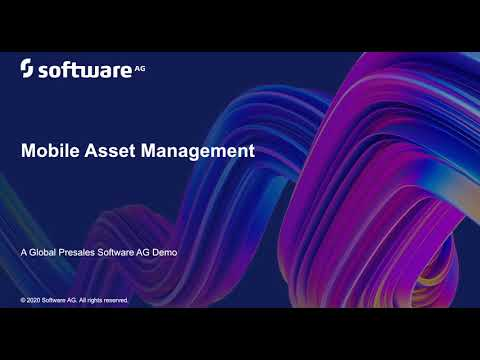 Mobile Asset Management – a closer look | Software AG