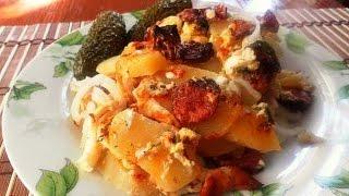 Рокот крумпли - Картофельная запеканка по-венгерски