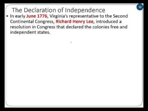 George APUSH 3.2 Declaration of Independence