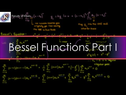 Bessel Functions and the Frobenius Method
