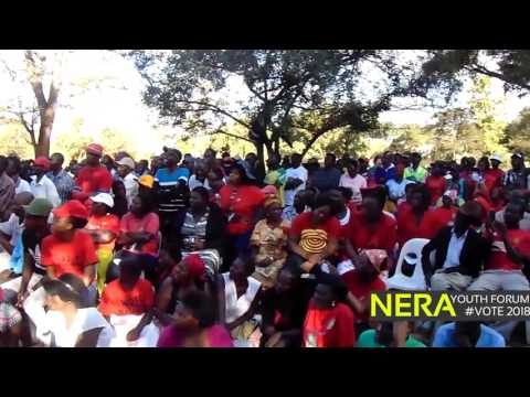 President Tsvangirai's address at  Chinhoyi NERA Youth Forum rally