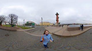 Смотреть видео Санкт-Петербург 360. Эксперимент - съёмка в новом формате. Это видео можно вертеть онлайн