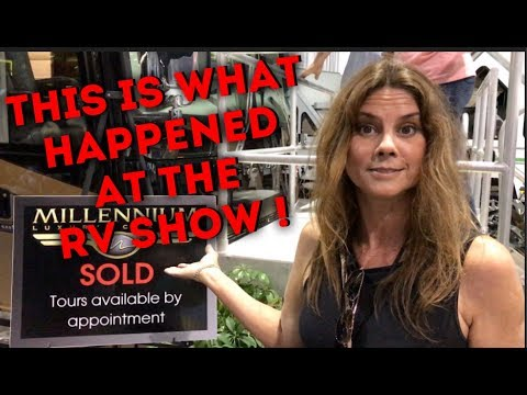 WHAT HAPPENED AT THE RV SHOW ??