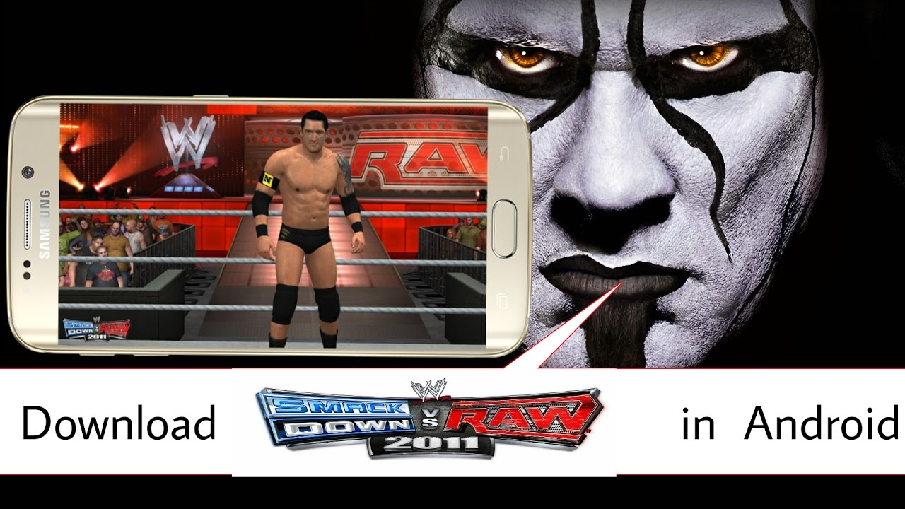 How to download wwe 2k11 smackdown vs raw in android