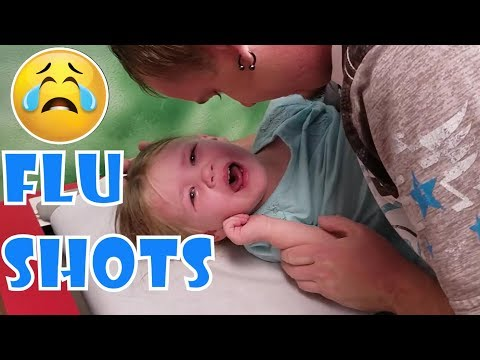 Doctors Office MELTDOWN! Madison HATES the FLU SHOT!