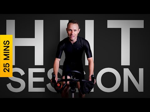 25 Minute Bike Workout | HIIT Session | Intervals | Indoor Cycling