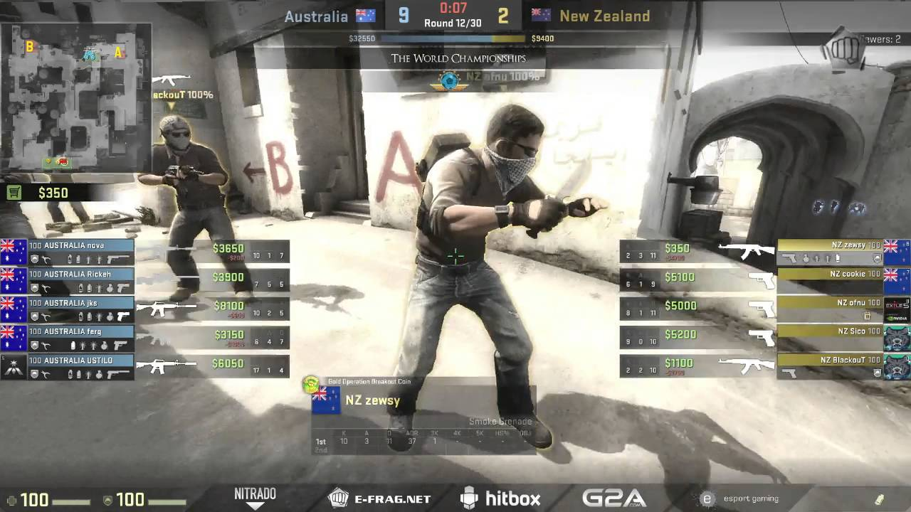 The world championships 2015 oceanic qualifier australia vs new the world championships 2015 oceanic qualifier australia vs new zealand map dust 2 sciox Image collections