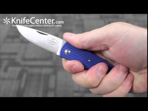 Fallkniven Blue PCrb Folding Knife