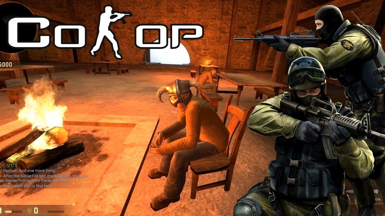 Counter Strike Co-op: High Fantasy Fight Boys