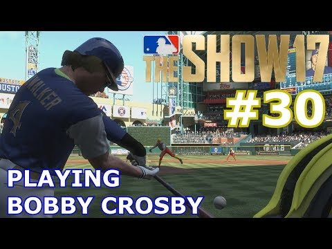 PLAYING BOBBY CROSBY | MLB The Show 17 | Diamond Dynasty PT.30